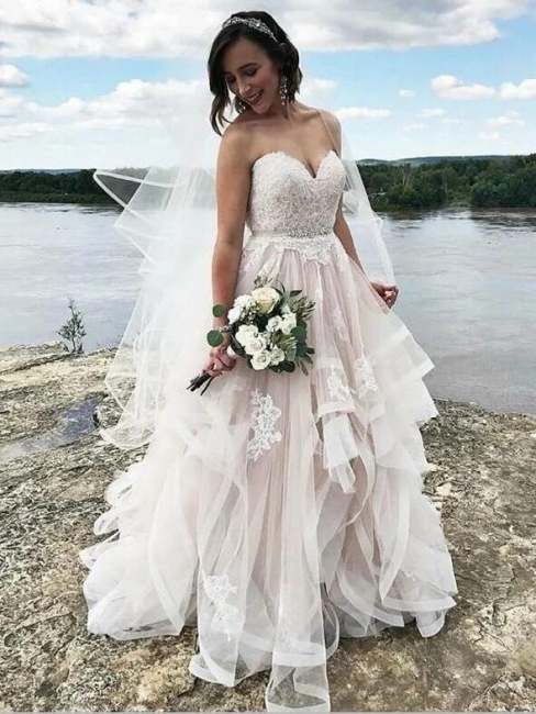 Simple wedding dresses with lace | Wedding Dresses A Line Online
