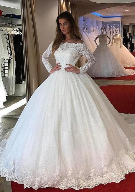 Designer Brautkleider mit Ärmel | Prinzessin Brautmoden Hochzeitskleider