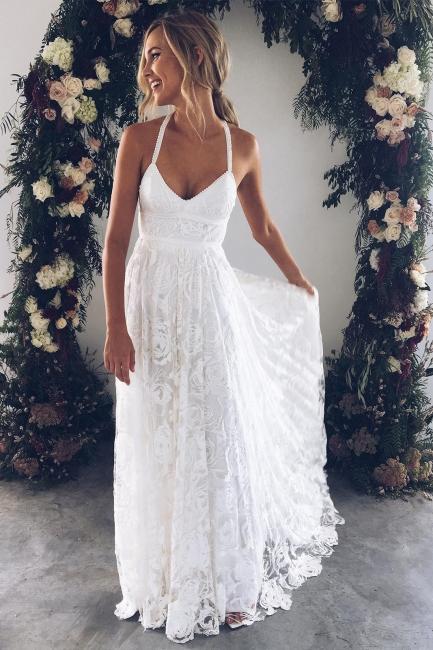 Fashion Weiße Hochzeitskleider Spitze Etuikleider Brautkleider Günstig Online