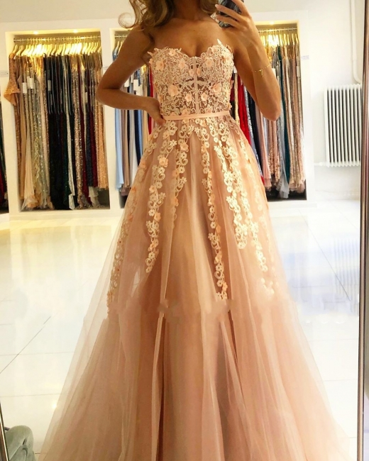 Cheap evening dress with lace | Prom dresses evening wear online