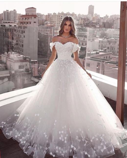 Luxus Hochzeitskleider A Linie | Brautkleider Brautmoden Online Kaufen