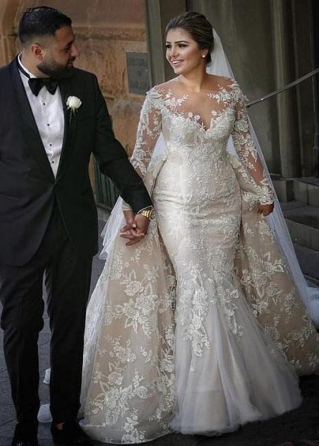 Wunderschöne Brautkleider A Linie | Hochzeitskleider Mit Ärmel Online