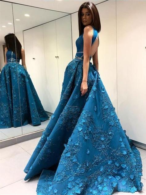Elegant evening dresses long lace cheap a line prom dresses evening wear online
