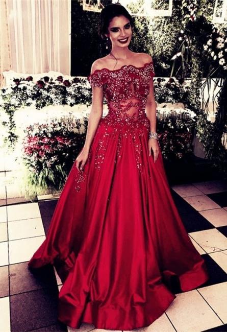 Elegante Abendkleider Spitze Rot Lang Etuikleider Abendmoden Online
