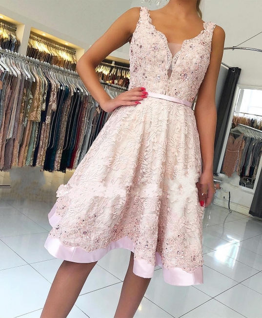 Fashion cocktail dresses short | Buy lace evening dresses online