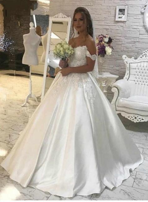 Wunderschöne Brautkleider A Linie | Hochzeitskleider Günstig Online