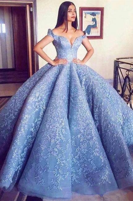 luxus abendkleider blau | abiballkleider lang gunstig