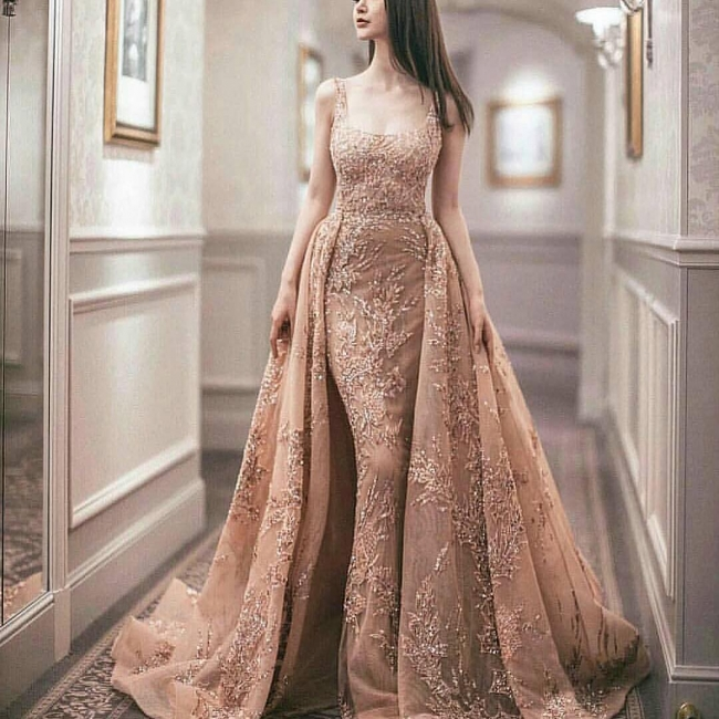 Luxury Evening Dresses Online Long Cheap Prom Dresses Lace
