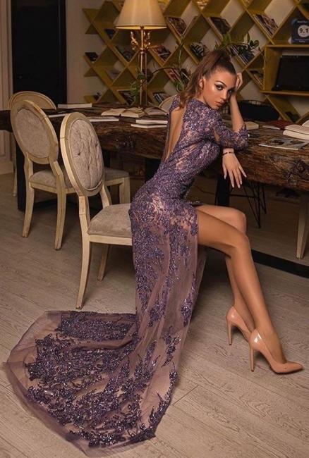 Luxus Abendkleider Lang Glitzer | Abiballkleider Abendmoden Mit Spitze