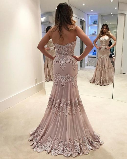 Buy gorgeous evening dresses cheap long lace prom dresses online