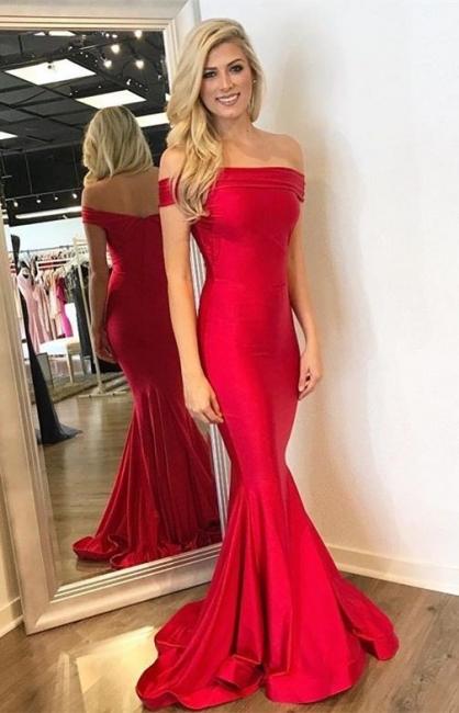 Fashion Abendkleider Lang Rot Günstig Abiballkleider Ballkleider Online Kaufen