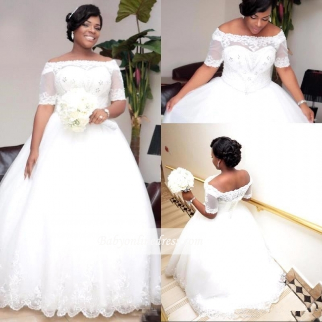 Brautkleider Große Grüße Mit Ärmel Spitze Hochzeitskleider ÜberGröße Online