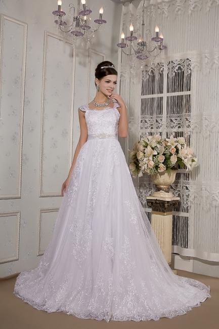 Weiß Brautkleider Für Schwangere Spitze Träger Brautmode Schwanger Günstig