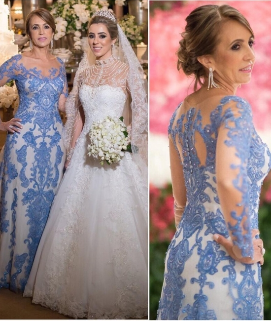 Elegante Brautmutterkleider Mit Ärmel | Spitze Kleider Für Brautmutter