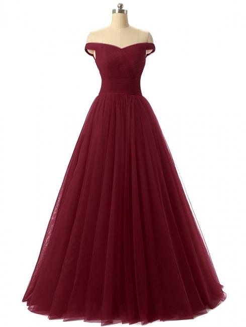 Elegant Wine Red Wedding Dresses Cheap Long Off Shoulder Bridal Wedding Dresses Cheap