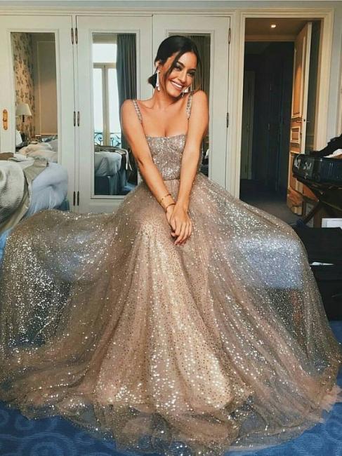 Elegant evening dresses long cheap sequins sheath dresses evening dresses online