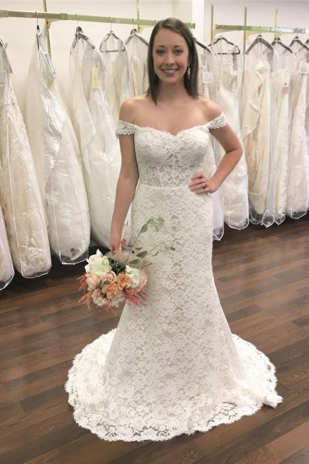 Designer Brautkleider Meerjungfrau | Spitze Hochzeitskleider Günstig Online