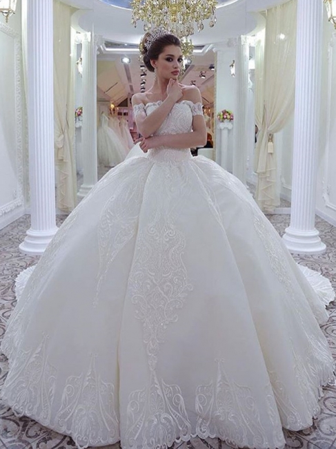 Luxury wedding dresses princess | Lace Wedding Dresses Online