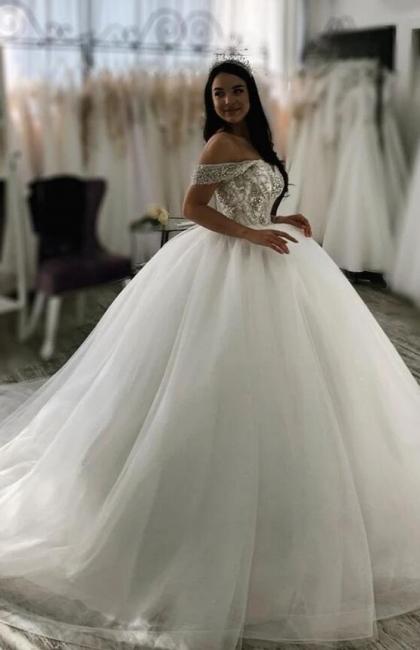 Luxus Hochzeitskleider Prinzessin | Brautkleider Tüll Günstig