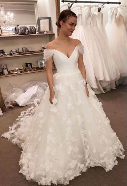 Elegant Bridal Wear Online | Simple wedding dresses A line