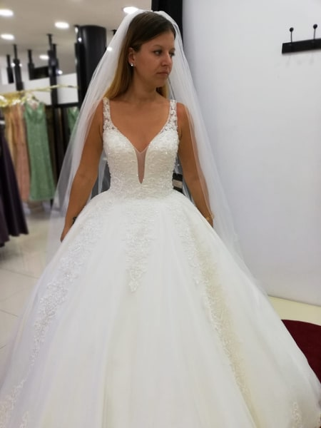 Cheap wedding dresses princess | Wedding dresses with lace online
