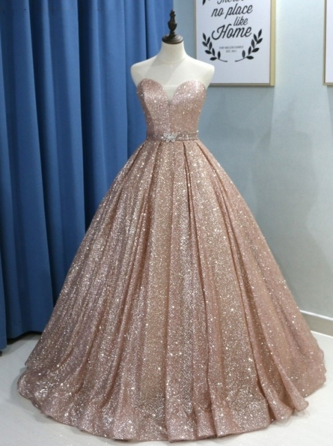 Fashion evening dresses with glitter | Buy princess evening wear online