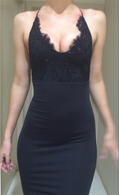 Custom Made Prom Dresses Long With Lace Chiffon Mermaid Evening Dresses