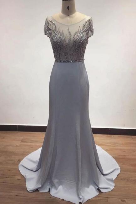 Luxury evening dresses long glitter | Prom dresses evening wear online