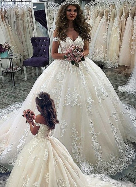 Cheap flower girl dresses lace | Children's wedding dresses online