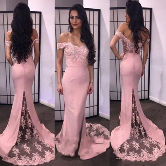 Evening dresses long cheap online with lace chiffon long prom dresses online