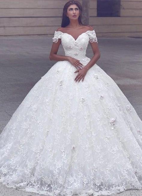 Weiße Brautkleider A Linie Schluterfrei Prinzessin Brautmoden Hochzeitskleider