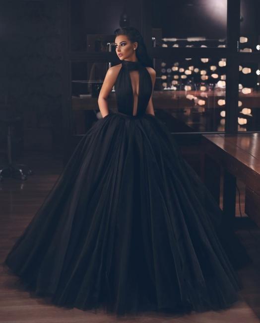 Fashion Schwarz Abendkleider Lang Günstig | Abendmoden Bodenlang Online