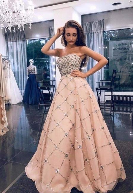 Gorgeous Evening Dresses Online Cheap Beaded Chiffon Long Elegant Cocktail Dresses