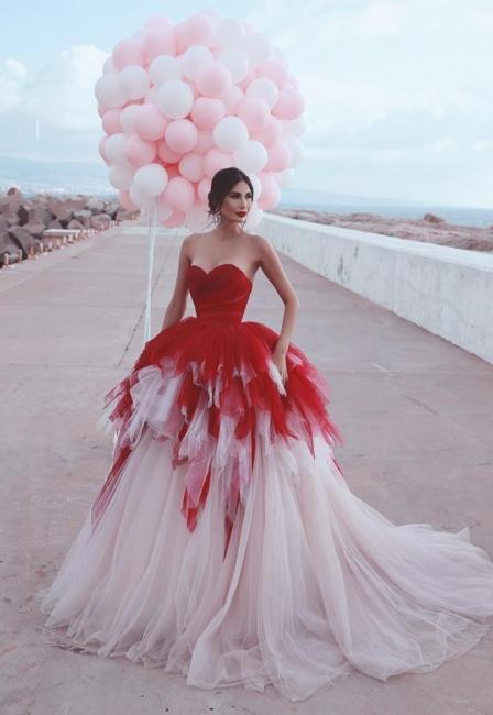 Fashion Red Wedding Dresses Princess | Wedding Dresses Cheap Online