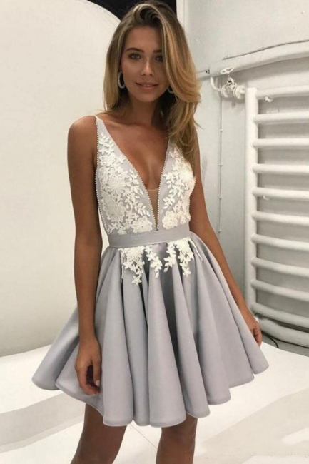 Homecoming Dress Cheap | Cocktail dresses short with lace