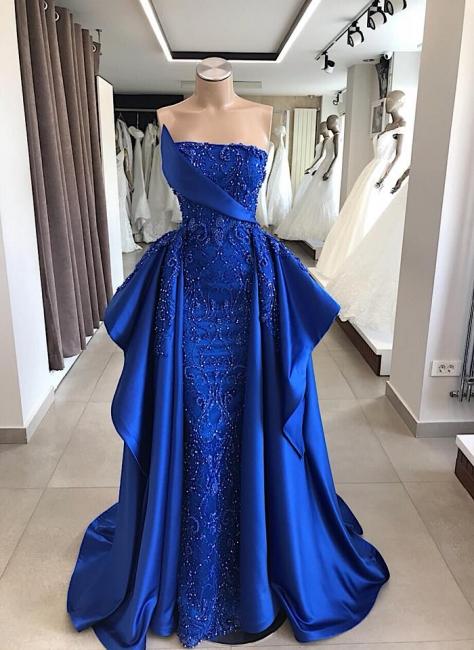 Modern Abendkleider Lang König Blau | Abiballkleider Online Kaufen