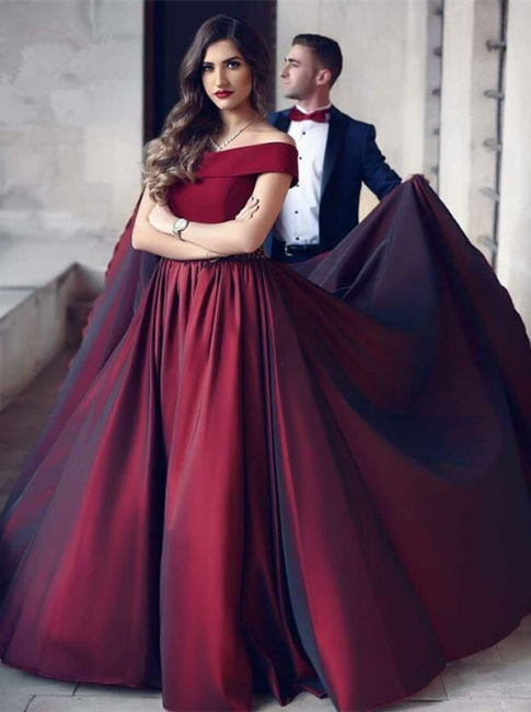 Burgundy evening dresses long cheap strapless evening dresses prom dresses online