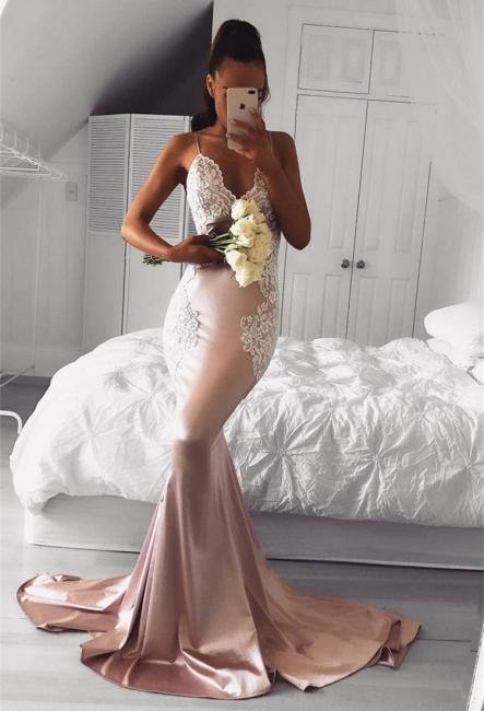 Elegant evening dresses long cheap mermaid prom dresses online
