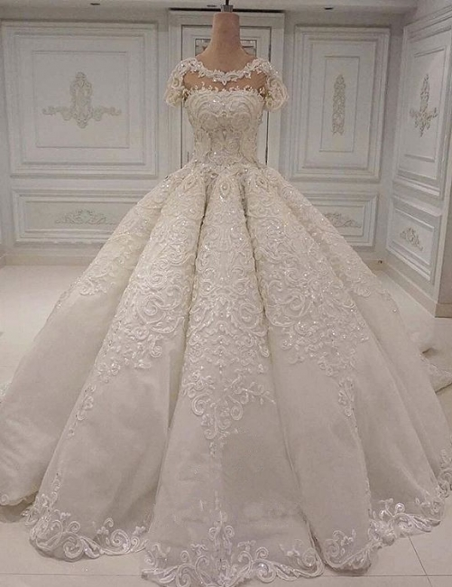 Luxury Wedding Dresses A Line | Wedding dresses with lace online