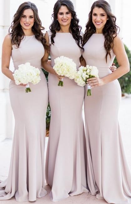 Elegante Brautjungfernkleider Lang Günstig Kleider Online Kaufen