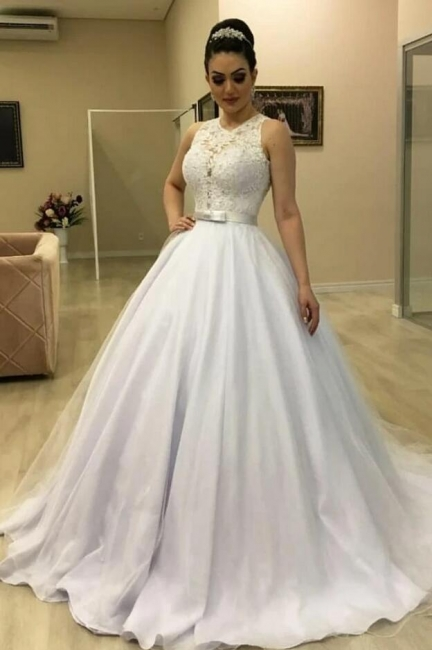2021 wedding dresses with lace | Wedding dresses princess cheap