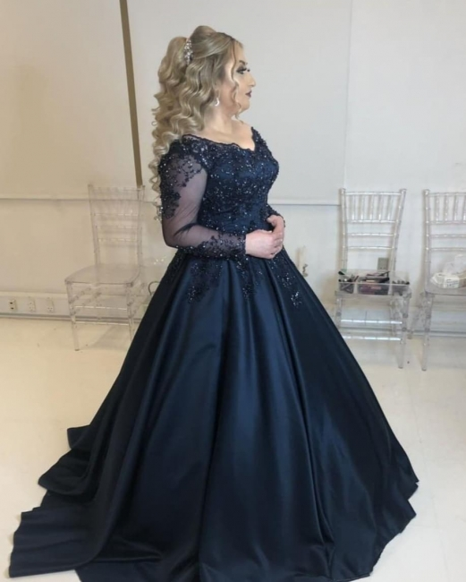 Cheap Evening Dresses Long With Sleeves | Prom dresses sale online