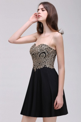 Elegant short evening dresses | Cocktail dresses black_7