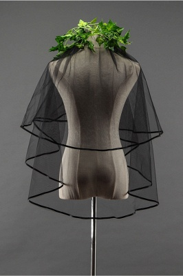 Wedding veil | Black veil_3