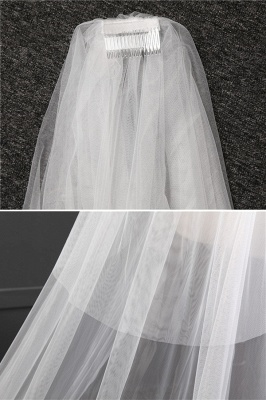 Veil Ivory Long | Wedding veil_6