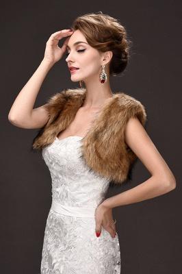 Jacke für Brautkleid Winter | Bolero Hochzeitskleid_5