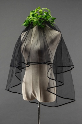 Wedding veil | Black veil_4