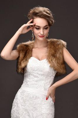 Jacke für Brautkleid Winter | Bolero Hochzeitskleid_4