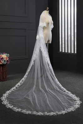 Cathedral veil long | Veil with lace_1