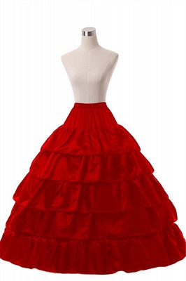 Crinoline under wedding dress | Underskirt red_2